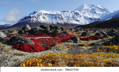 Mountains valley at Kamchatka Russia view landscape