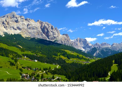 Mountains valley scenery