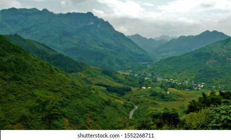 Mountains of Vietnam. Natural landscape