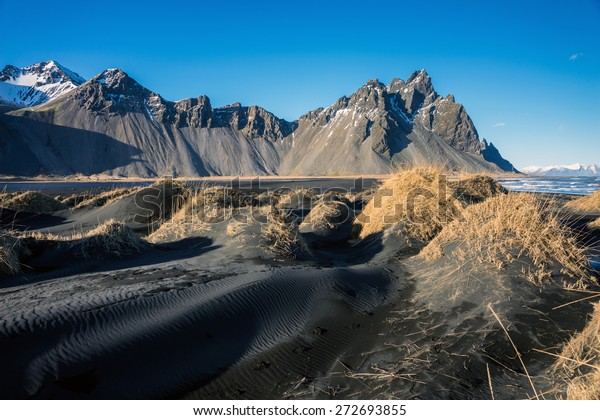 Spring Comes To Dunes >> Mountains Volcanic Lava Sand Dunes By Stock Photo Edit Now 272693855