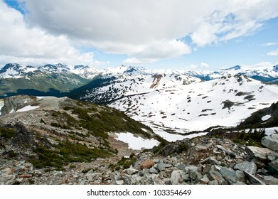 Mountains in Western Canada