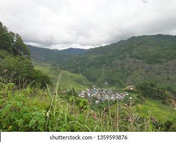 MOUNTAIN/SAGADA/PHILIPPINES/JUNE 2014: Sagada is stunnig