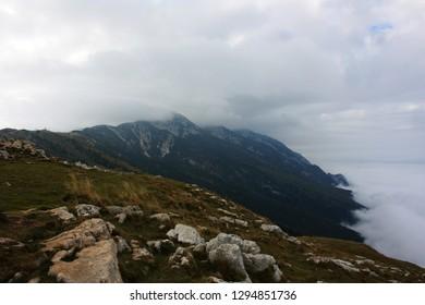 Mountainside Monte Baldo, Italy