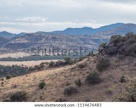 Fort Davis Tx >> Mountainside Outside Fort Davis Tx Stock Photo Edit Now