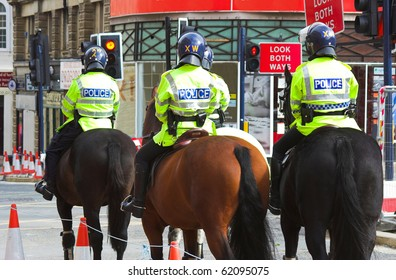 mounted police unit in United Kingdom