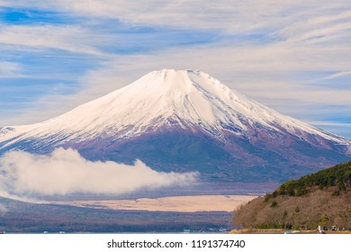 Mount.Fuji.The shooting location is Lake Yamanakako, Yamanashi prefecture Japan.