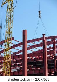Mounting of building framework