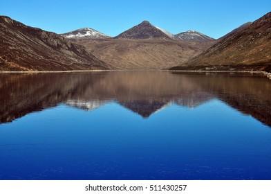 Mourne mountains, County Down, Northern Ireland, Spelga dam