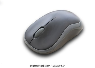 Mouse computer isolate on white background