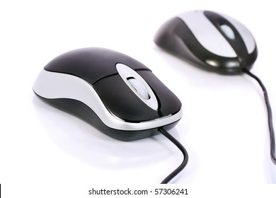 Mouse for Computer isolated on white