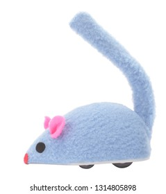 Mouse toy for cat pet with wheels