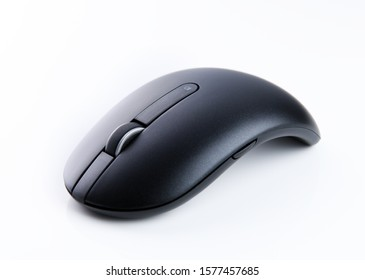 Mouse wireless on white background.Computer mouse isolated on white background. Computer mouse for design.