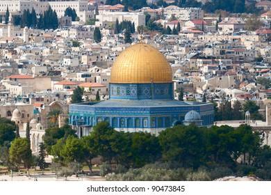 The mousque of Al-aqsa (Dome of the Rock)