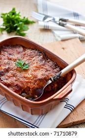 Moussaka - Greek meat dish