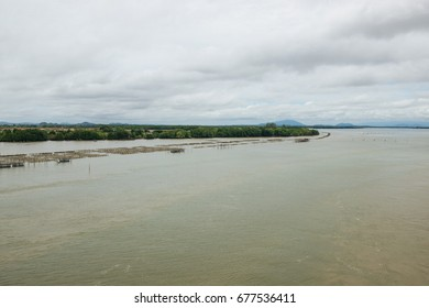 """Mouth of the Gulf of Thailand 25 May 2017 : """"View of the mouth of the Gulf of Thailand."""" Chanthaburi, Thailand."""