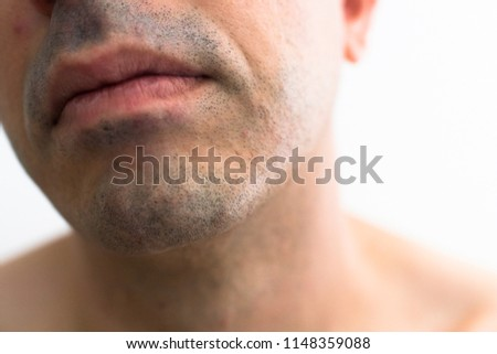 Speaking, opinion, shaved naturalist males
