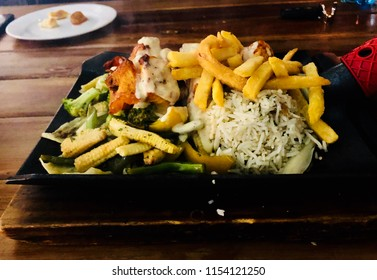 Mouthwatering tasty sizzler