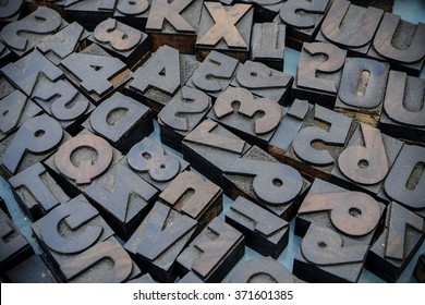 Movable type for print