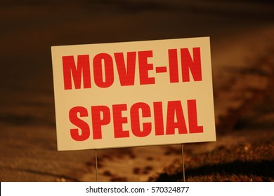MOVE IN SPECIAL SIGN