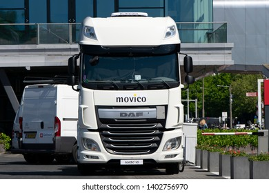 Movico DAF Truck At Amsterdam The Netherlands 2019