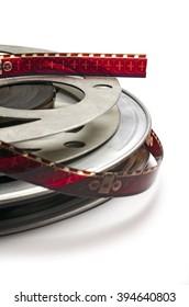 Movie Film on reels; 16mm movie film on spools/reels; differential focus; good extendable copy space