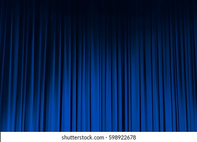 Movie Theater Curtains blue