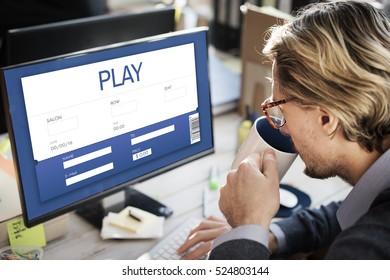 Movie Ticket Online Reservation Interface Concept