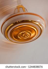 A moving electric ceiling fan unique photo