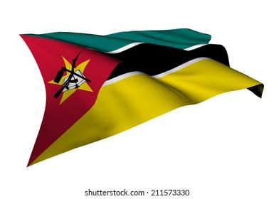 Mozambique flag - collection no_5