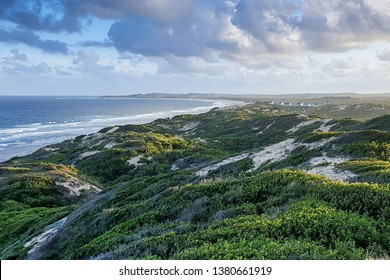 Mozambique Sea view with dunes