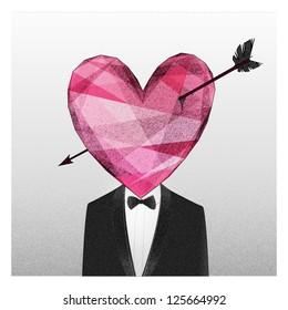 Mr. Heart fall in love
