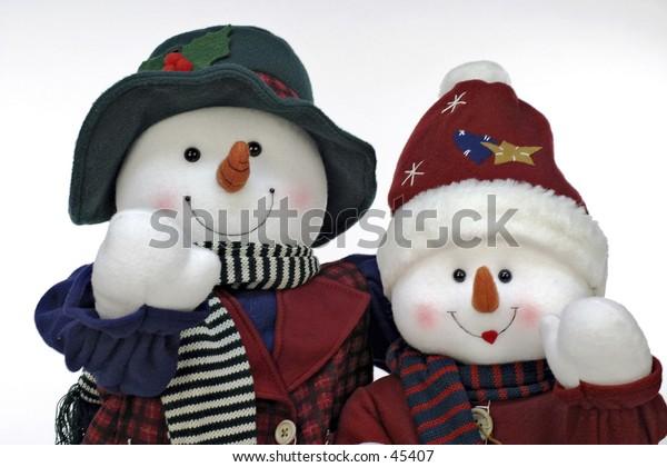 Mr & Mrs Frosty