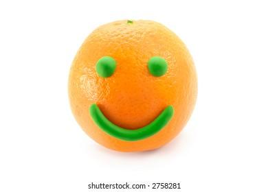 Mr. Smiley Orange
