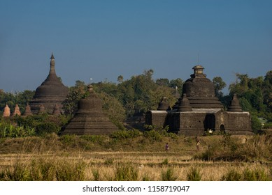 Mrauk U ancient city at Rakhine state, Myanmar.