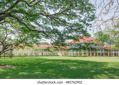 Mrigadayavan Palace (Marukhathaiyawan) in Hua hin, Thailand