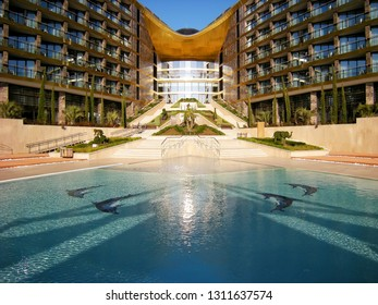 Mriya Resort & SPA is a premium class resort in the Crimea, which includes a five-star hotel, medical and spa-centers of international level, a modern congress center. December 2017