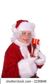 Mrs. Claus had to much to drink