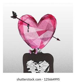 Mrs. Heart fall in love