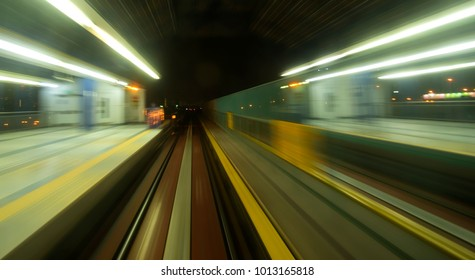 MRT station from slow speed motion capture