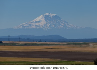 Mt. Adams over Agriculture