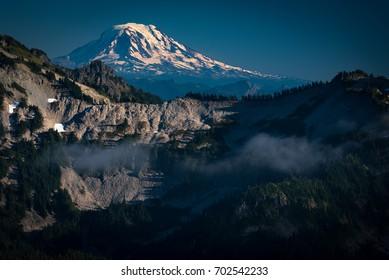 Mt. Adams shot from Mt.Rainier in Washington