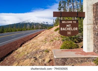 Mt Bachelor, Oregon