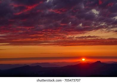 Mt. Bachelor Sunset