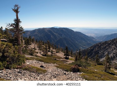 Mt. Baldy view in Los Angeles County California