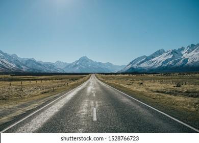 Mt Cook Road New Zealand