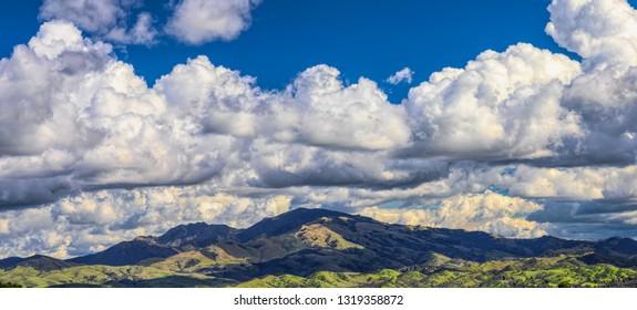 Mt. Diablo California panorama