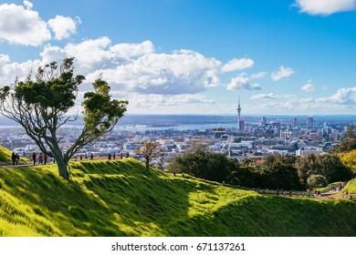 Mt Eden, Auckland New Zealand, April 2017