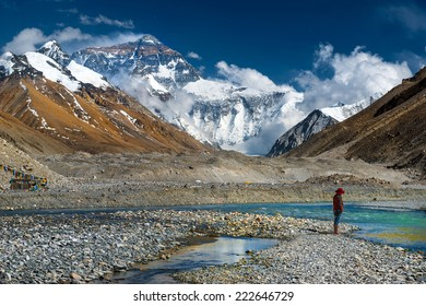 Mt, Everest, Tibet Ladscape