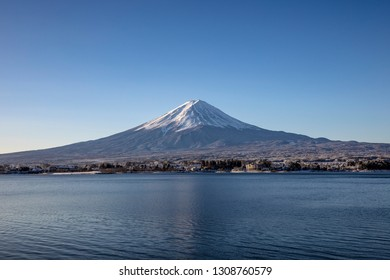 "Japan's Mt. Fuji is an active volcano about 100 kilometers southwest of Tokyo. Commonly called ""Fuji-san,"" it's the country's tallest peak, at 3,776 meters."