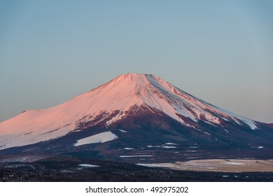 Mt Fuji in the early morning